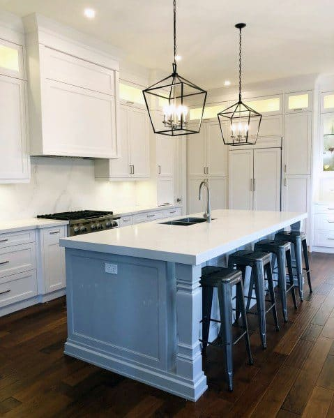 Top 50 Best Kitchen Island Lighting