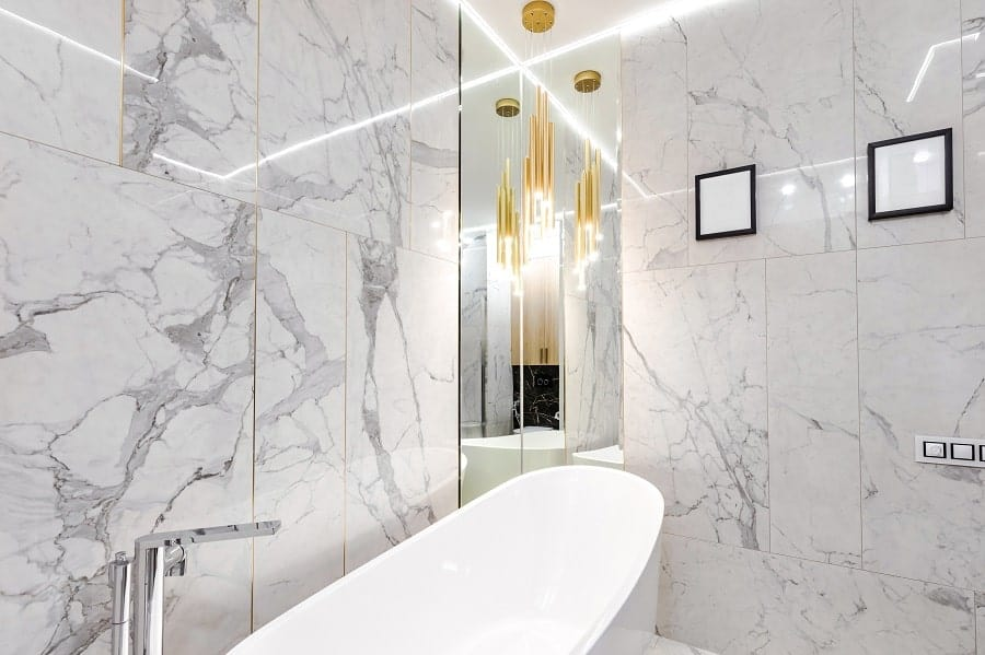 Idea Inspiration Marble Bathroom Vanity And Floor Designs