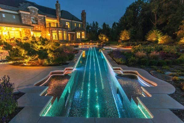 Idea Inspiration Pool Lighting Designs