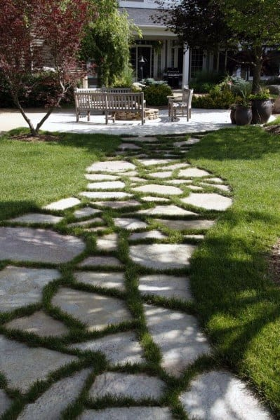 Idea Inspiration Stone Walkway Designs