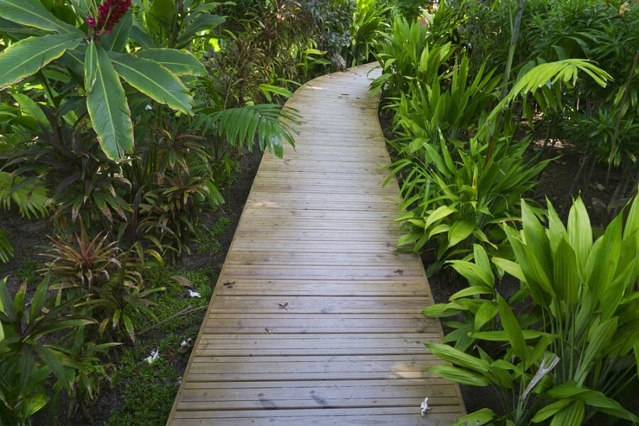 Idea Inspiration Wooden Walkway Designs