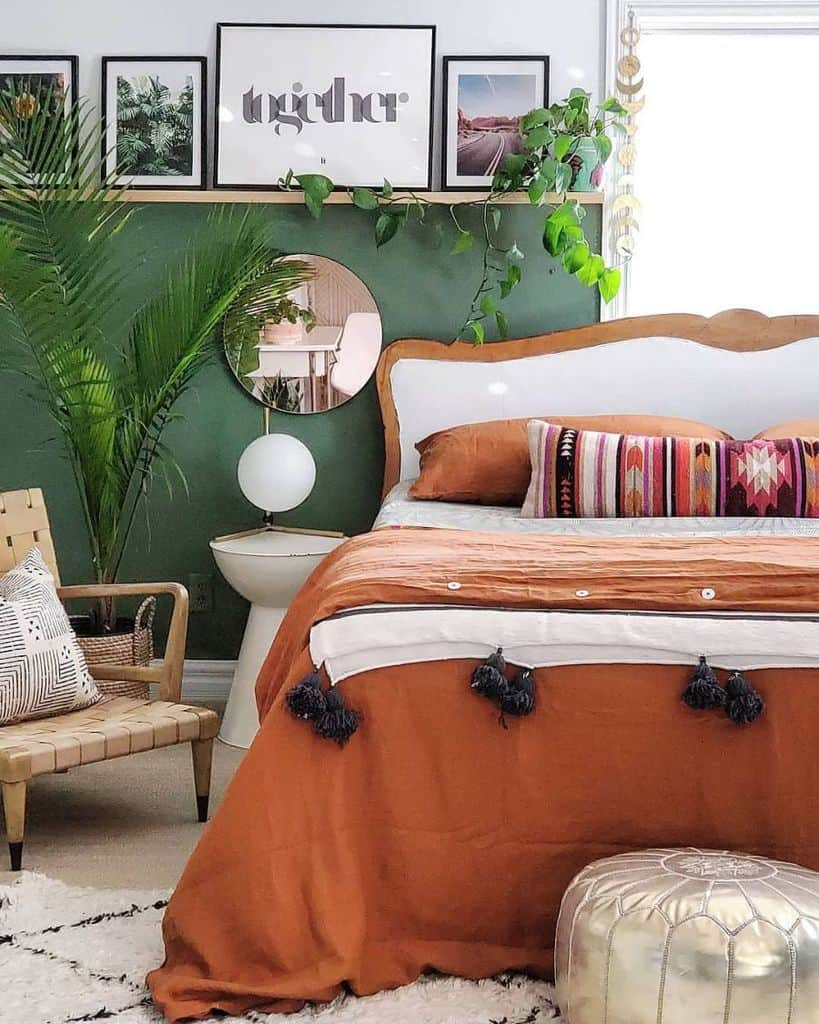 ideas bedroom paint ideas blissfully_eclectic