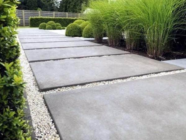 Ideas Concrete Walkway
