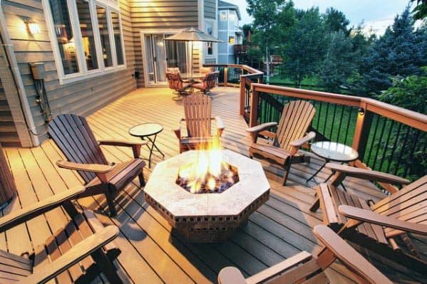 Ideas Deck Fire Pit