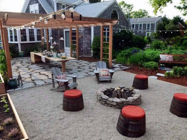 Ideas Fire Pit Landscaping