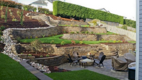 Ideas For A Retaining Wall
