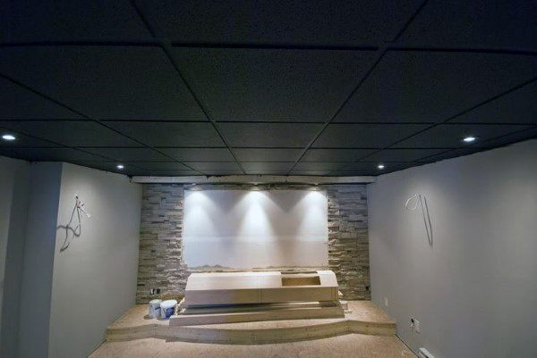 Ideas For Basement Ceilings