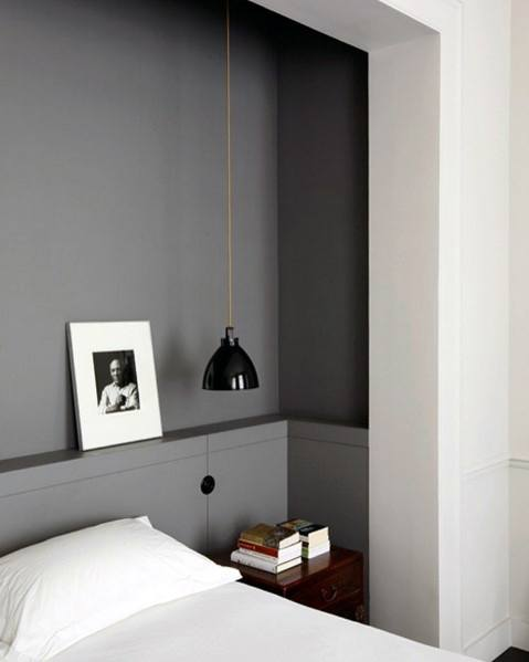 Ideas For Bedroom Lighting Interior Small Black Pendant