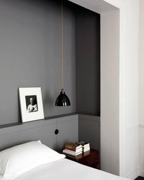 Ideas For Bedroom Lighting Interior Small Black Pendant