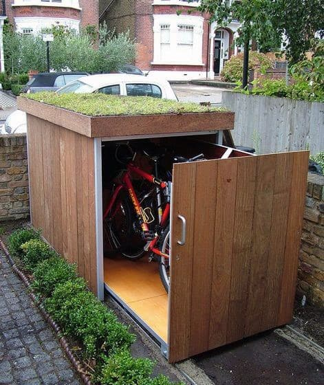 Ideas For Bicycle Sheds Storage Outdoor