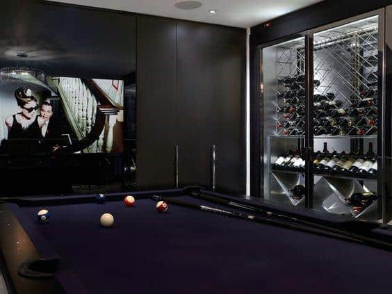 Ideas For Billiards Rooms