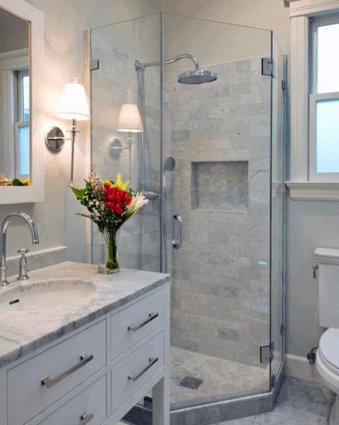 Ideas For Corner Shower