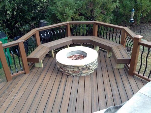 Ideas For Deck Fire Pit