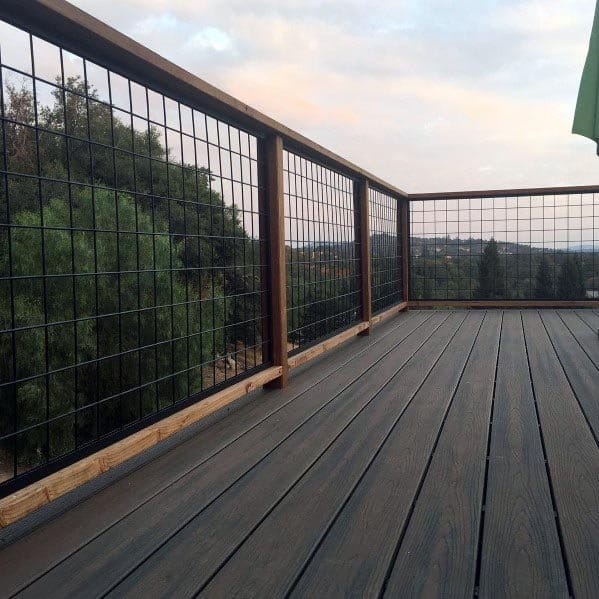 Ideas For Deck Railing Backyard