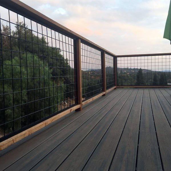 Ideas For Deck Railing Backyard
