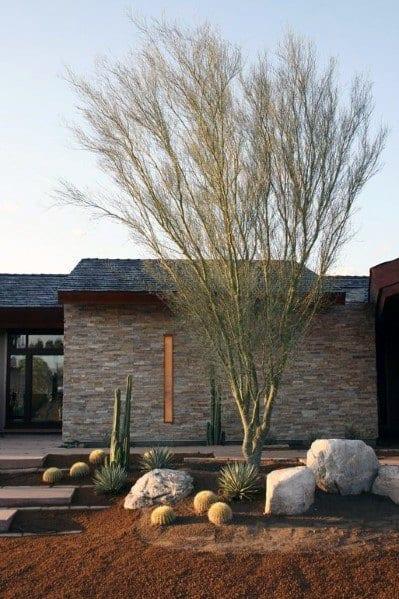 Ideas For Desert Landscaping Exterior