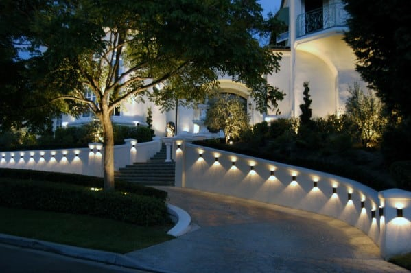 Top 40 best driveway lighting ideas landscaping designs - How to design outdoor lighting plan ...