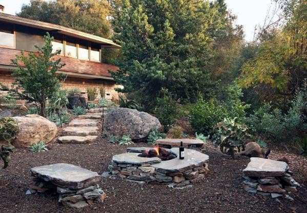 Ideas For Fire Pit Landscaping