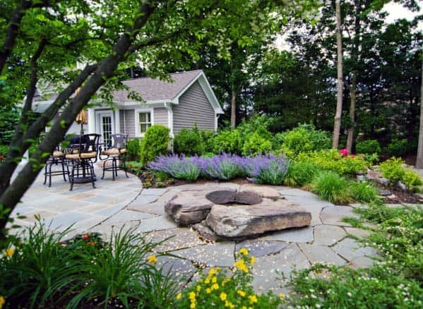 Ideas For Fire Pit Landscaping Backyard