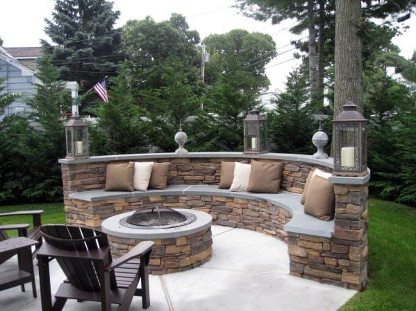 Ideas For Fire Pit Seating Backyard