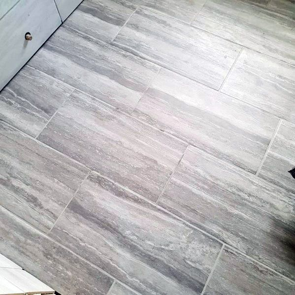 Ideas For Grey Bathroom Tile