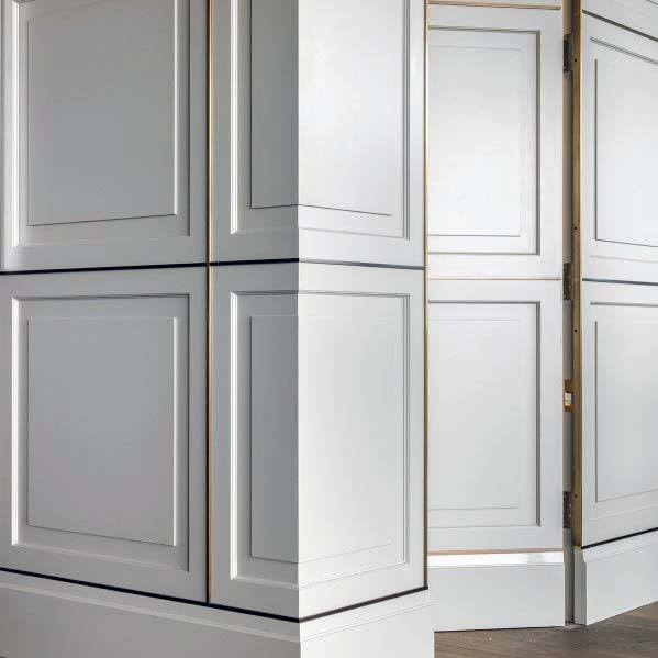 Ideas For Hidden Doors Ornate Millwork