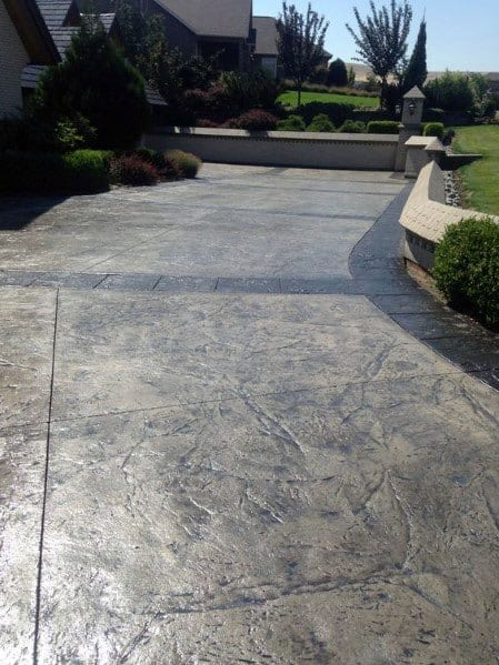 Ideas For Home Concrete Driveway