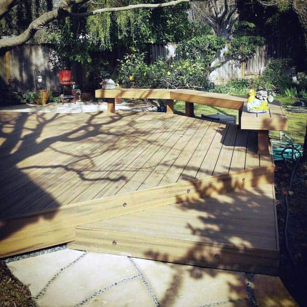 Ideas For Home Deck Bench