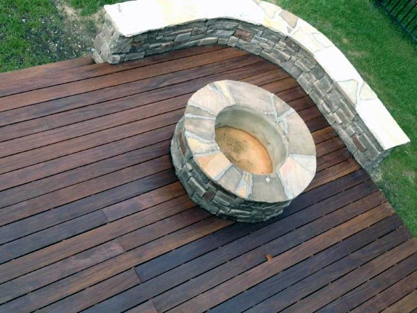 Ideas For Home Deck Fire Pit