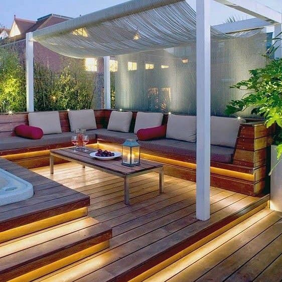 Ideas For Home Deck Lighting