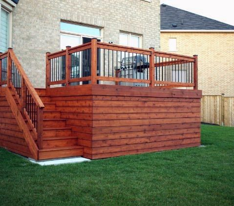 Ideas For Home Deck Skirting
