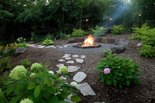 Ideas For Home Fire Pit Landscaping