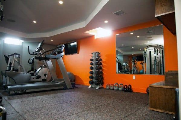 Ideas For Home Gym Floorings