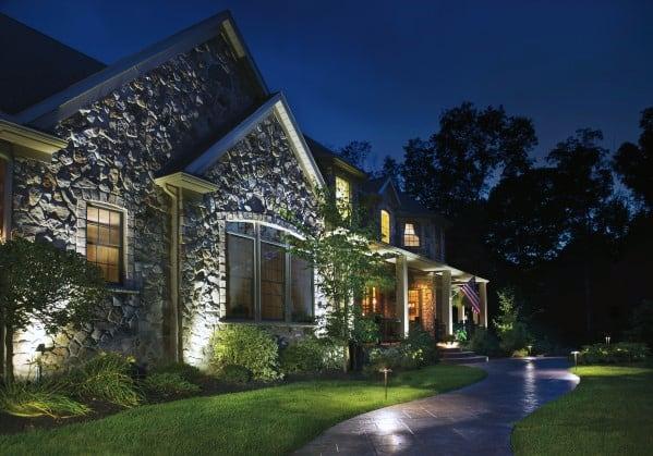Ideas For Home Landscape Lighting Front Yard
