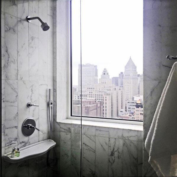 Top 70 Best Shower Window Ideas Bathroom Natural Light