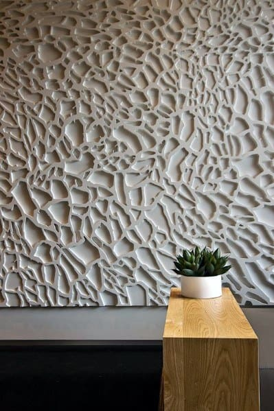Wood Panel Accent Wall: Top 50 Best Textured Wall Ideas