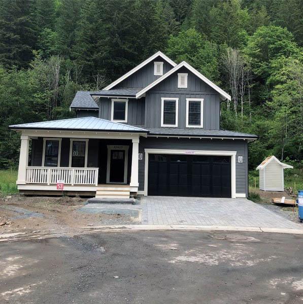 Ideas For House Siding Grey