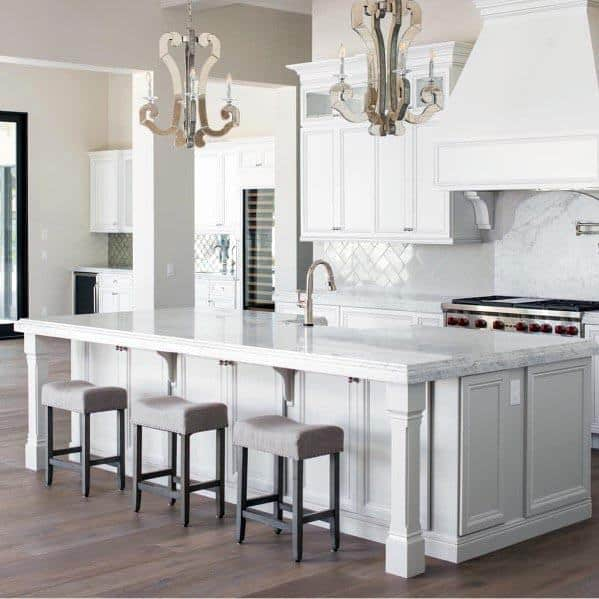 Ideas For Kitchen White