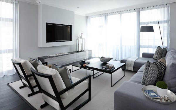 Ideas For Living Room Decoration Modern