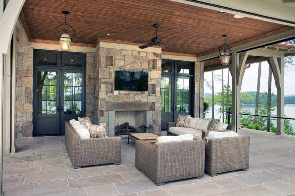 Ideas For Patio Ceiling