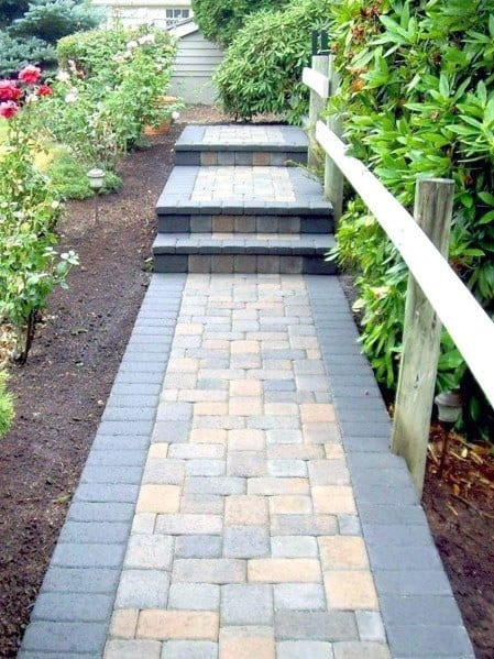 Ideas For Paver Walkway Exterior