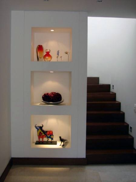 Top 40 Best Recessed Wall Niche Ideas Interior Nook Designs
