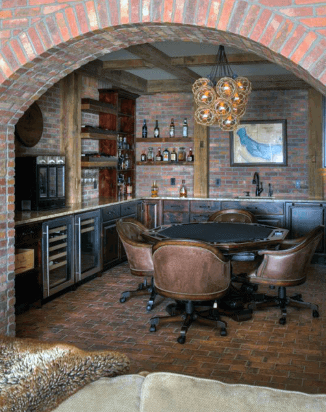 Ideas For Rustic Bar