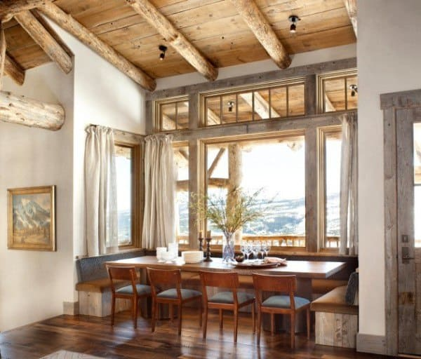 Ideas For Rustic Dining Room Designs
