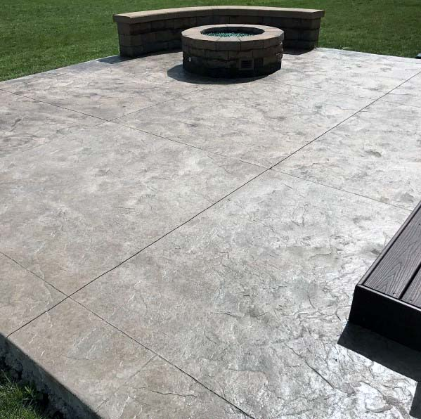 Ideas For Stamped Concrete Patio