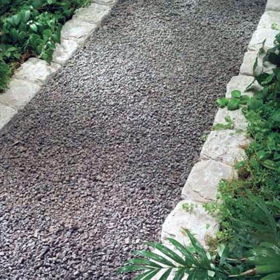 Ideas For Stone Edging Traditional Landscape Walkway