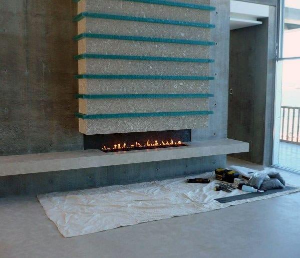 Ideas Linear Fireplace