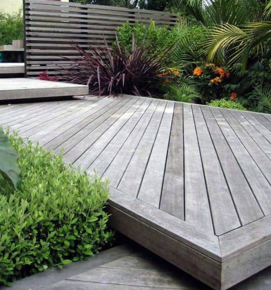 Ideas Modern Deck Unstained Wood