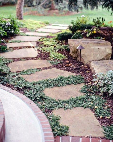Ideas Stone Walkway