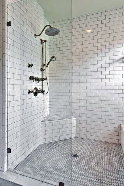 Top 50 Best Subway Tile Shower Ideas Bathroom Designs